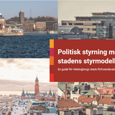 Politisk styrning med stadens styrmodell - För förtroendevalda