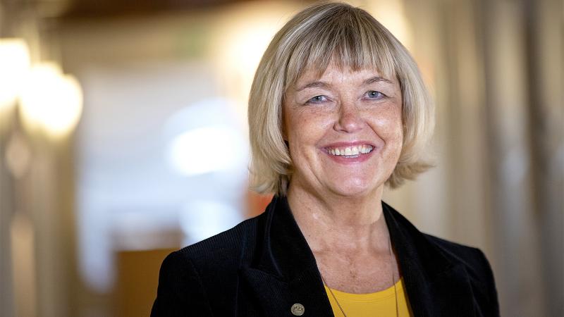 Dinah Åbinger på socialförvaltningen