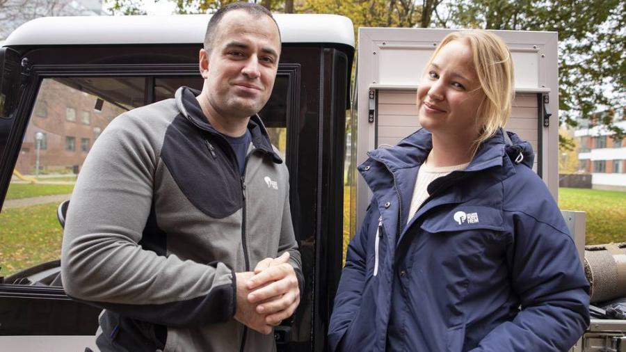De får boende att trivas – Helsingborgshems medarbetare får pris av staden