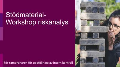 Workshop-material vid riskanalys- för samordnaren
