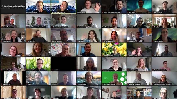 Var du med på stadsledningsförvaltningens digitala jorden runt resa?